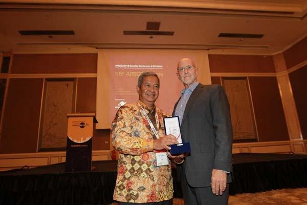Bos PSN raih Lifetime Achievement dari Dewan Satelit se-Asia Pasifik