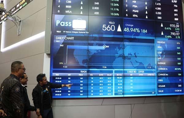 Sah! Saham Passpod tercatat di Bursa Efek Indonesia