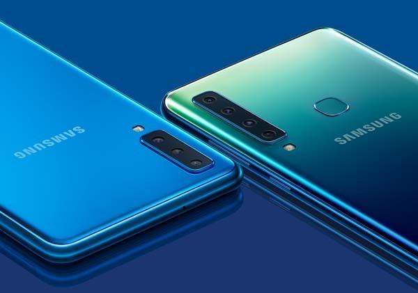 Galaxy A9, smartphone dengan empat kamera belakang