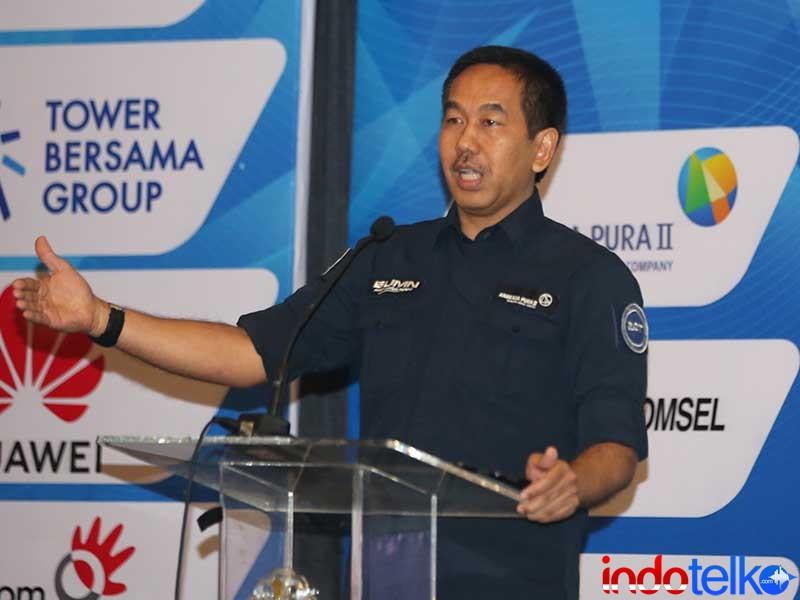 Direktur Utama PT Angkasa Pura II Bapak Muhammad Awaluddin