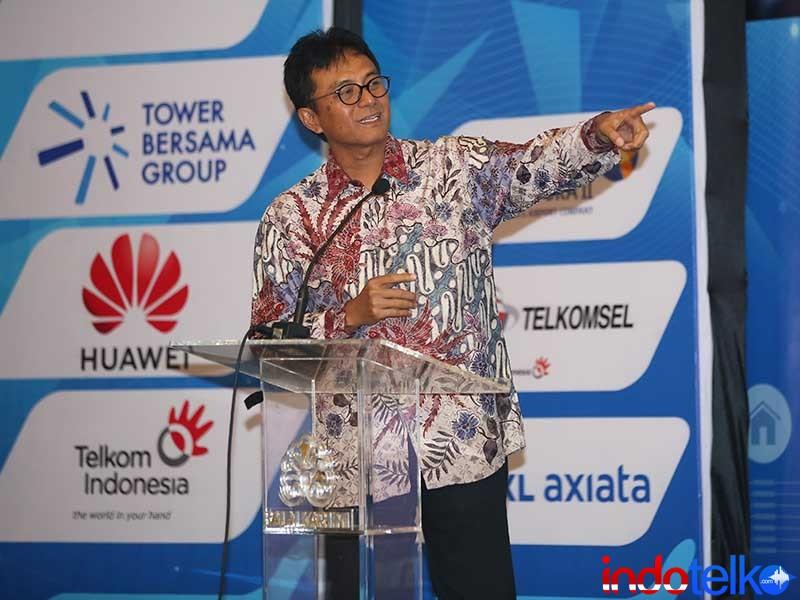 Executive Vice President Divisi Enterprise PT Telkom Bapak Judi Achmadi