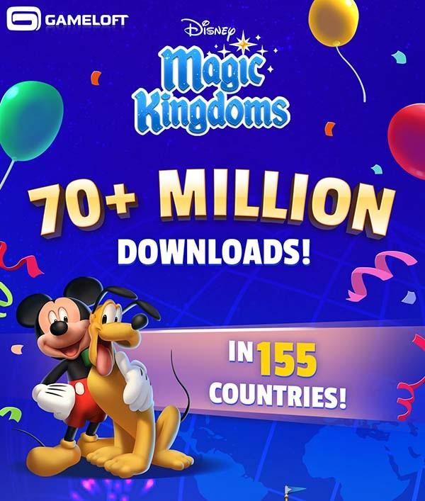 Gameloft buka pra pendaftaran untuk dua game Disney