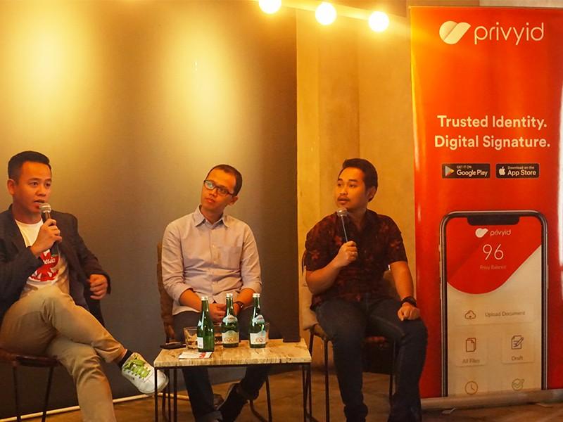 Fintech gandeng tanda tangan digital bidik masyarakat Unbanked