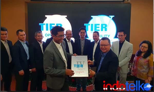 Telkomsigma perkuat data center dengan sertifikat Uptime Institute Tier IV Construction Facilities