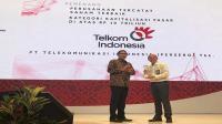 Kinerja dianggap terbaik, Telkom raih IDX Appreciation