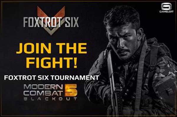 Gameloft gelar Foxtrot Six Pro Tournament