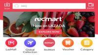 Lazada pacu bisnis supermarket di Asia Tenggara