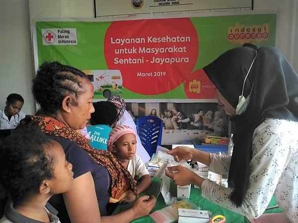 Indosat Ooredoo bantu korban bencana di Sentani