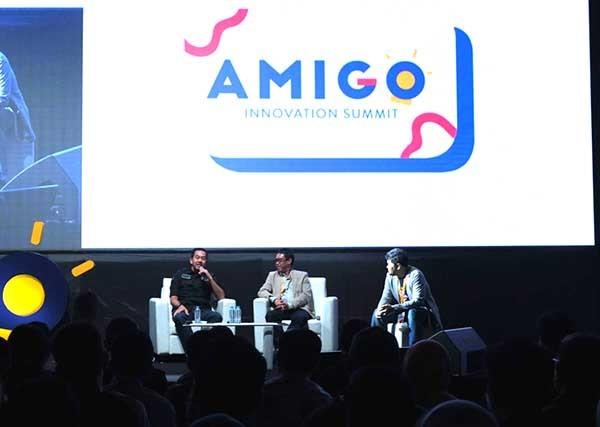 Talenta digital pamer inovasi di AMIGO Innovation Summit 2019