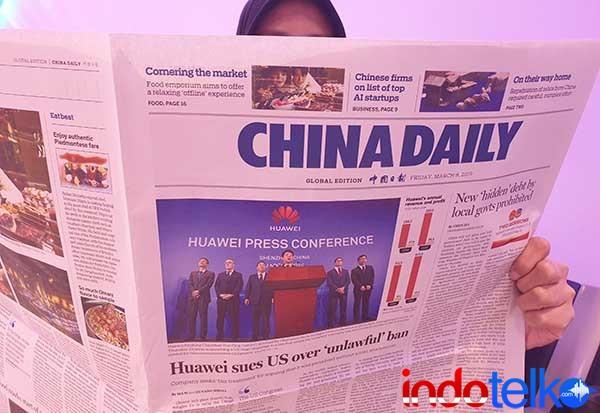 Huawei mencari keadilan dari