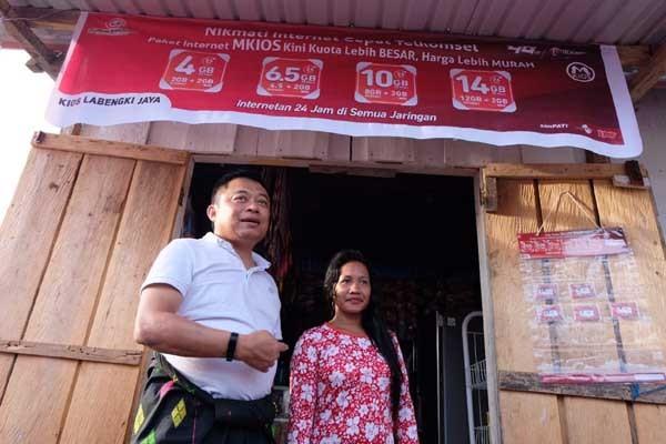 Telkomsel hadirkan 4G di Pulau Labengki