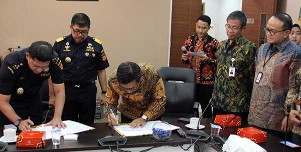 Telkomsat dukung komunikasi kapal patroli Bea dan Cukai
