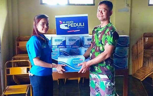 XL berikan bantuan bagi korban bencana di Jateng dan Yogyakarta