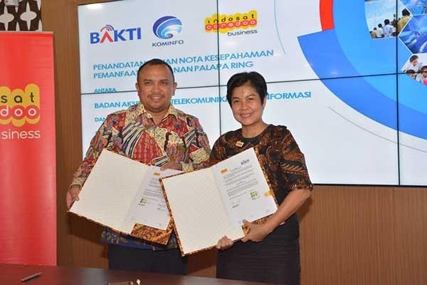 Indosat manfaatkan jaringan Palapa Ring