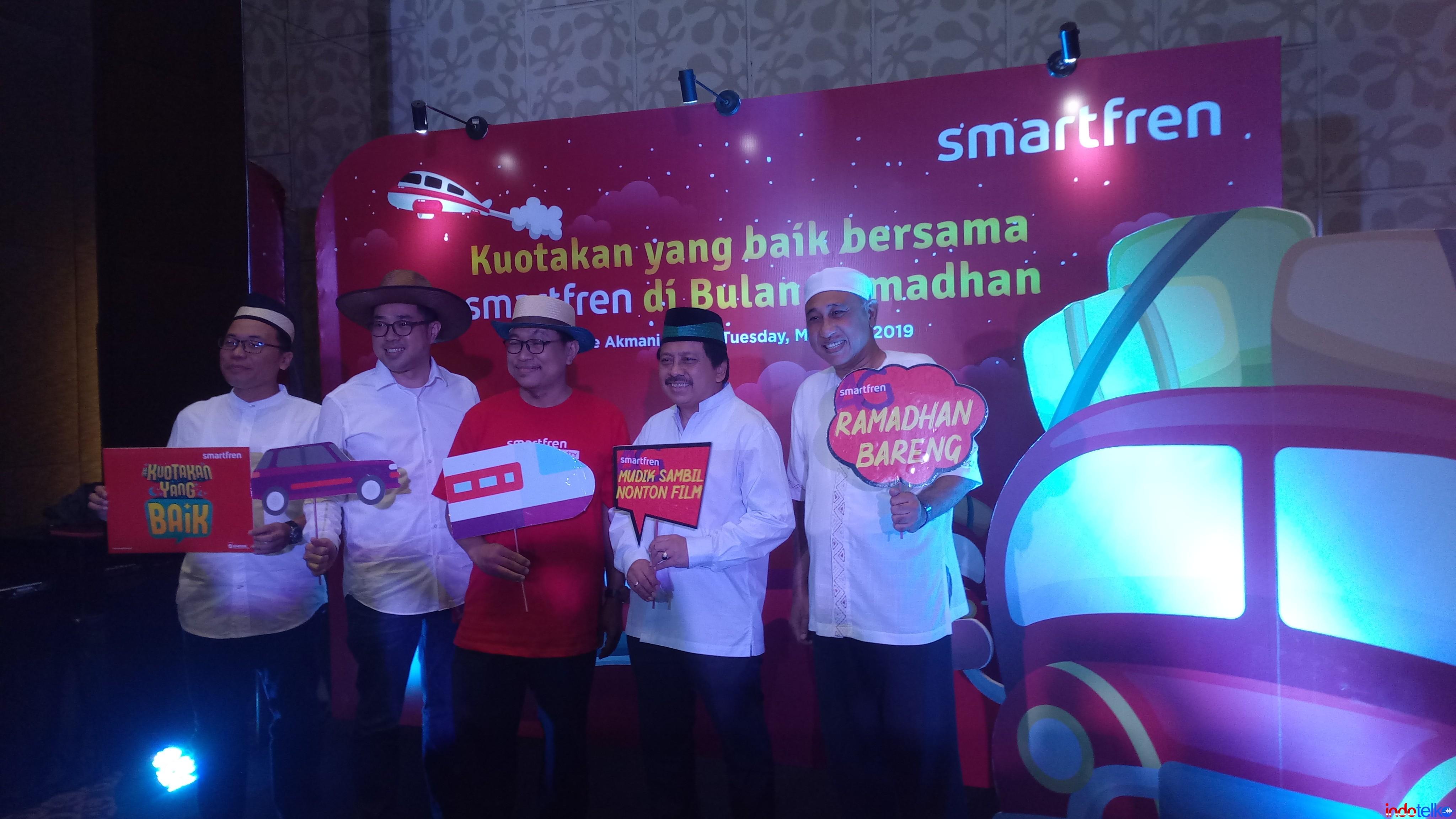 Smartfren pastikan layanan prima jelang lebaran 2019