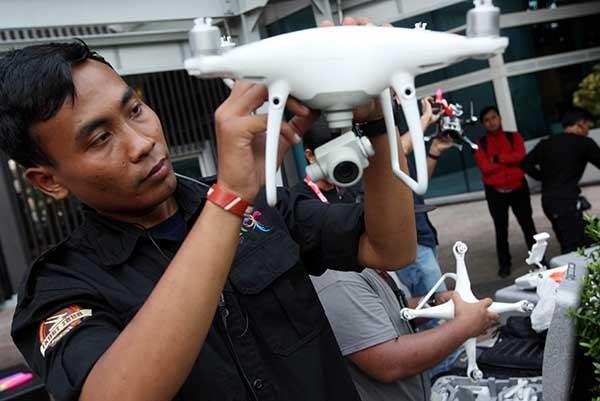 Penggunaan drone harus mendapatkan perhatian
