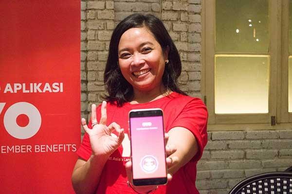 Aplikasi OYO sudah raih sejuta pengguna