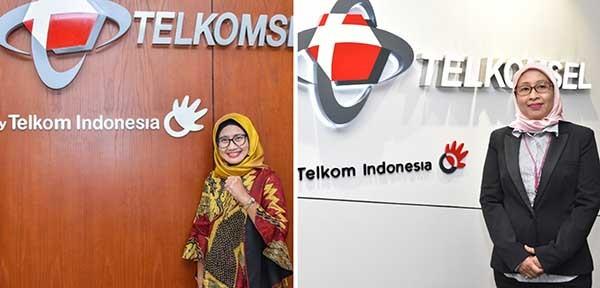 Mengenal dua srikandi lokal di direksi Telkomsel