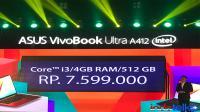 Asus VivoBook Ultra A412, Leptop 14 inci terkecil di dunia