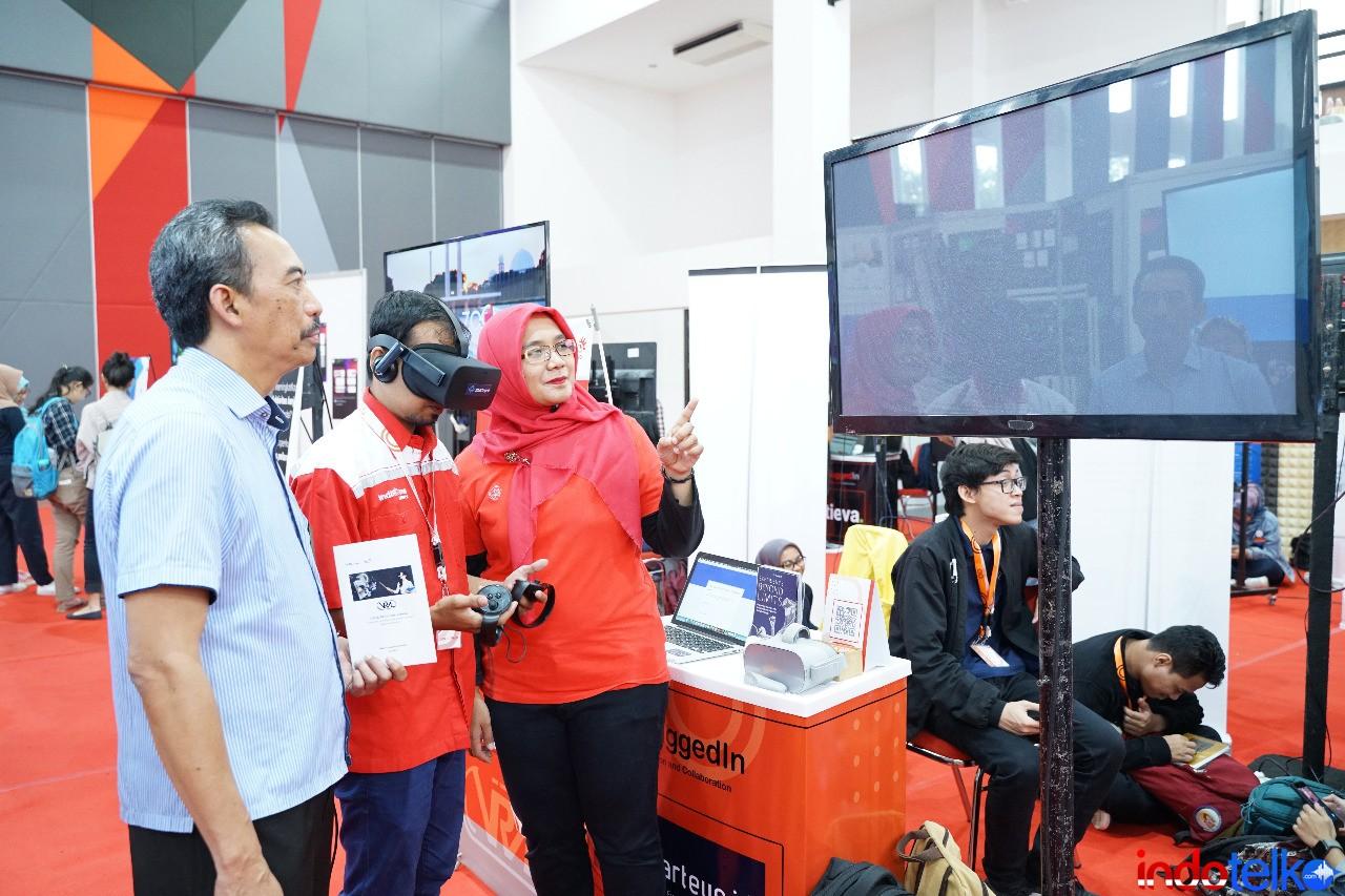 Telkom manfaatkan VR tingkatkan kemampuan teknisi IndiHome