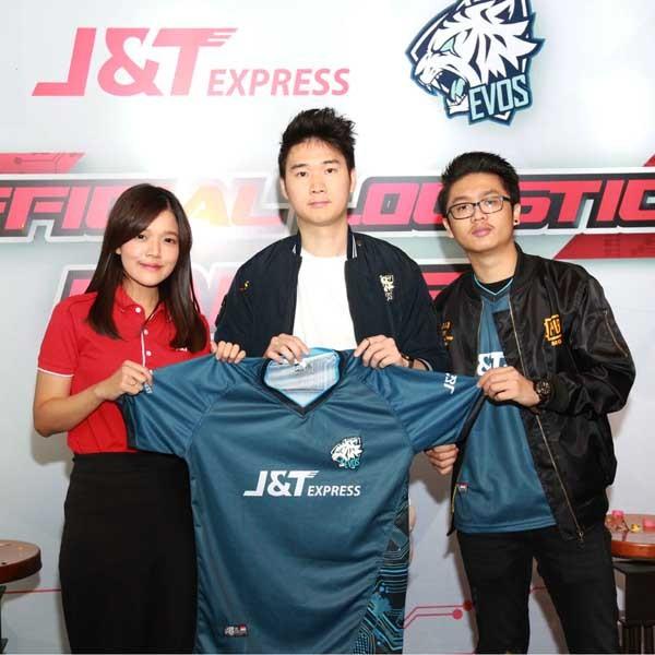 J&T Express dukung logistik tim EVOS Esports