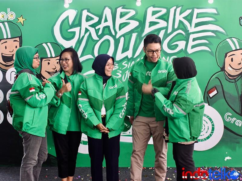 Ini GrabBike Lounge ketiga di TB Simatupang