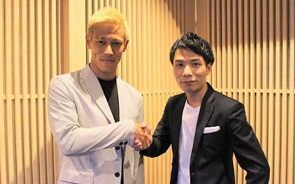 Keisuke Honda menjadi investor strategis di AnyMind Group
