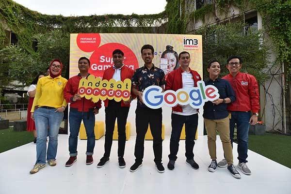 Gaet Google, Indosat genjot pengguna data