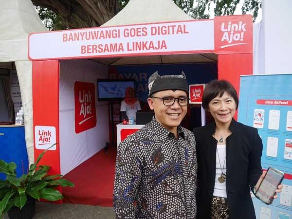 LinkAja bidik digitalisasi pembayaran di Banyuwangi