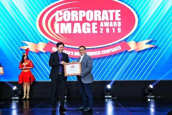 Telkomsel didapuk sebagai The Best Corporate Image 2019
