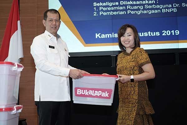 Bukalapak salurkan paket bantuan ke Halmahera Selatan