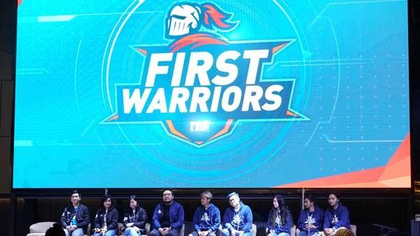 First Media tuntaskan kompetisi First Warriors