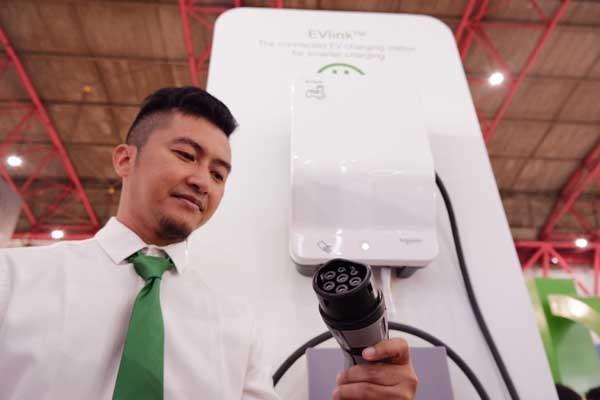 Schneider Electric siapkan EVlink hadapi era kendaraan listrik