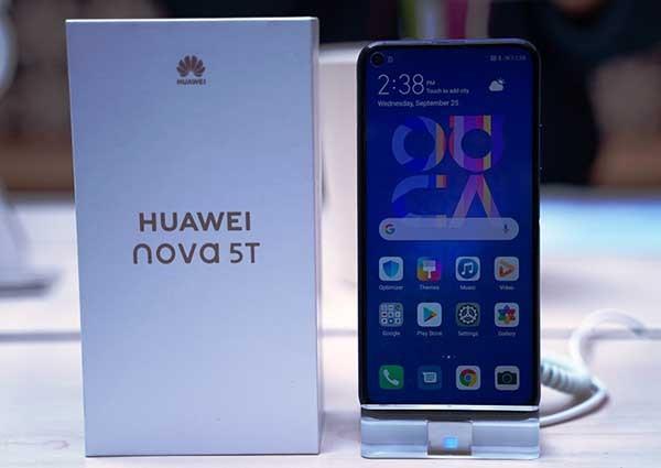 Huawei nova 5T siap manjakan gamers