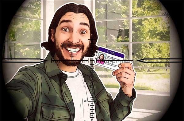 Hindari Swafoto dengan kartu identitas