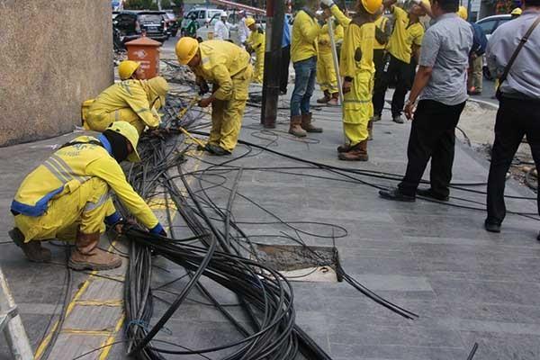 Gubernur Anies tertibkan kabel optik, APJATEL siapkan somasi