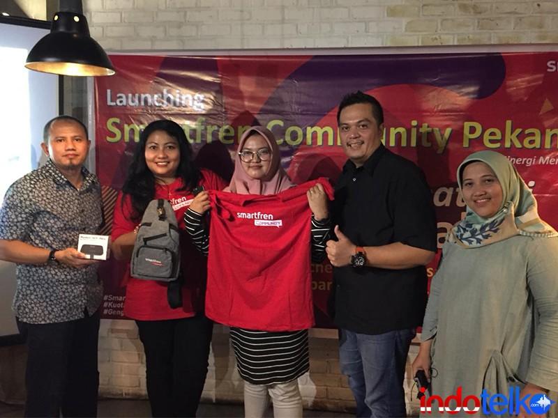 Smartfren Community hadir di Pekanbaru