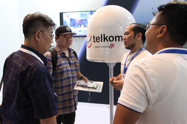 Telkomsat pamer produk unggulan di INAMARINE 2019