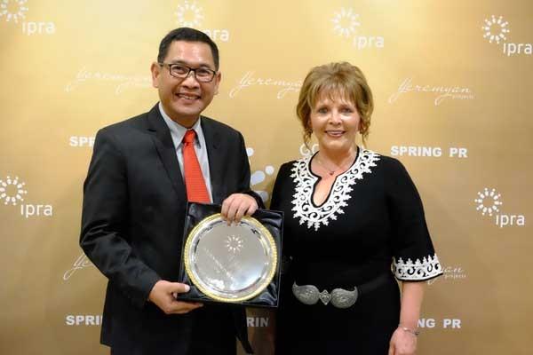 Telkom torehkan prestasi di Golden World Award IPRA 2019
