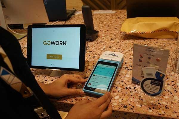 CashlezOne manjakan pengguna GoWork