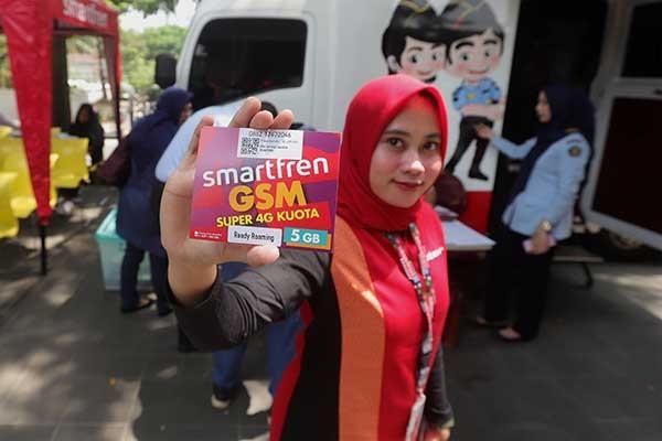 Smartfren genjot penjualan kartu perdana roaming