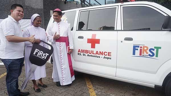 First Media tingkatkan layanan kesehatan di NTT