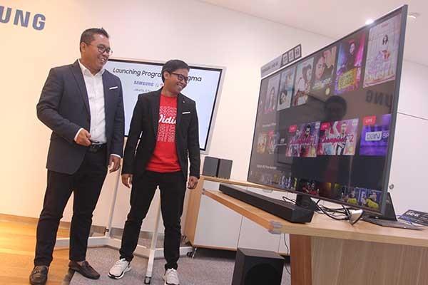 Samsung tanamkan aplikasi vidio di smart TV