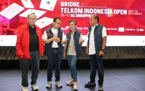TelkomGroup gelar turnamen bridge