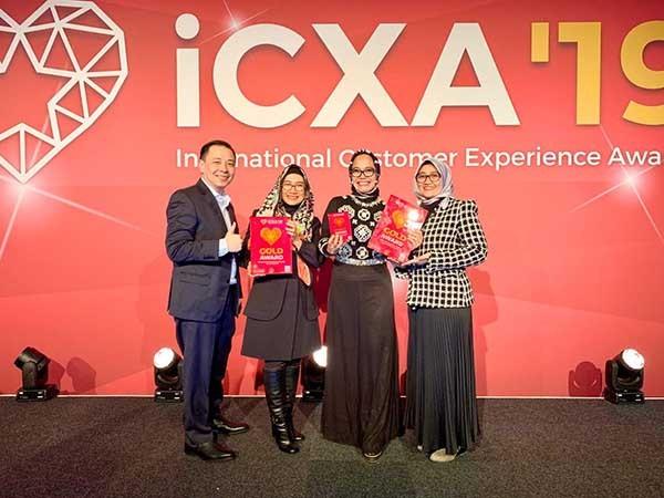 TelkomGroup borong tiga penghargaan International Customer Experience