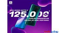 Redmi Note 8, serbu pasar hingga 125 ribuan unit