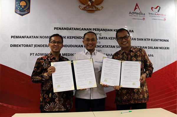 AdMedika Group manfaatkan data kependudukan dari Ditjen Dukcapil