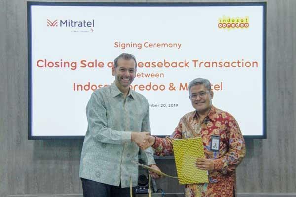 Sah! Mitratel kuasai 2.100 menara Indosat