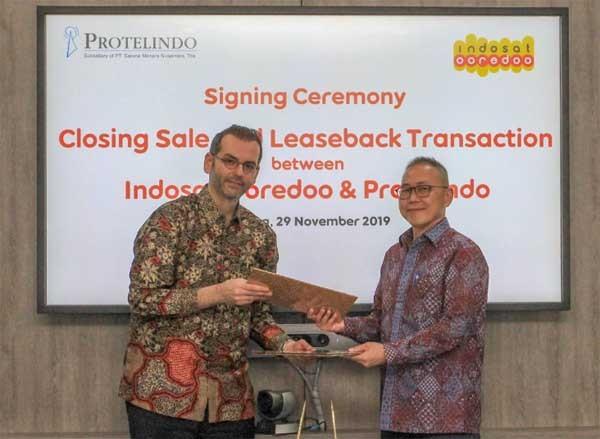 Indosat tuntaskan transaksi penjualan menara dengan Protelindo