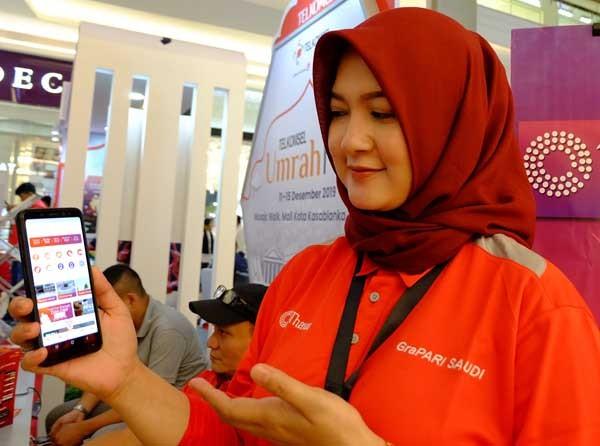Telkomsel berikan layanan digital bagi jamaah Umrah
